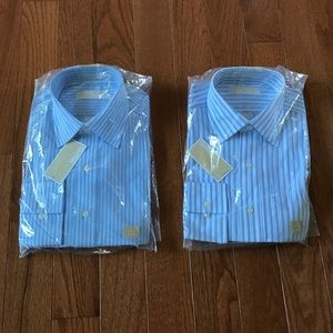 2 Michael Kors dress shirts